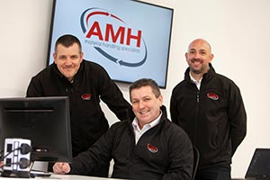 L to R: Mick Armitt (Service & Support), Michael Ryan (Accounts Director) & Adrian Carter (Projects Director)
