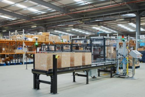 Box making machines create the right sized boxes on demand