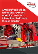 AMH prevents stock losses and reduces operator costs for international off-price fashion retailer